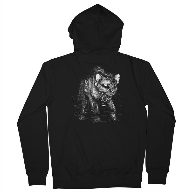 Black cat Women's Zip-Up Hoody by allandotson's Artist Shop