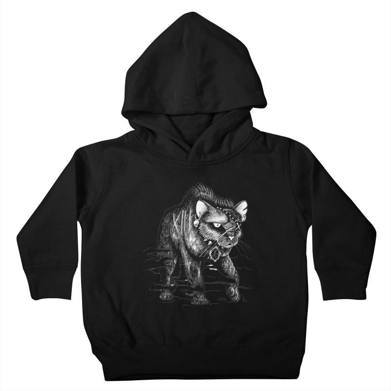 Black cat Kids Toddler Pullover Hoody by allandotson's Artist Shop