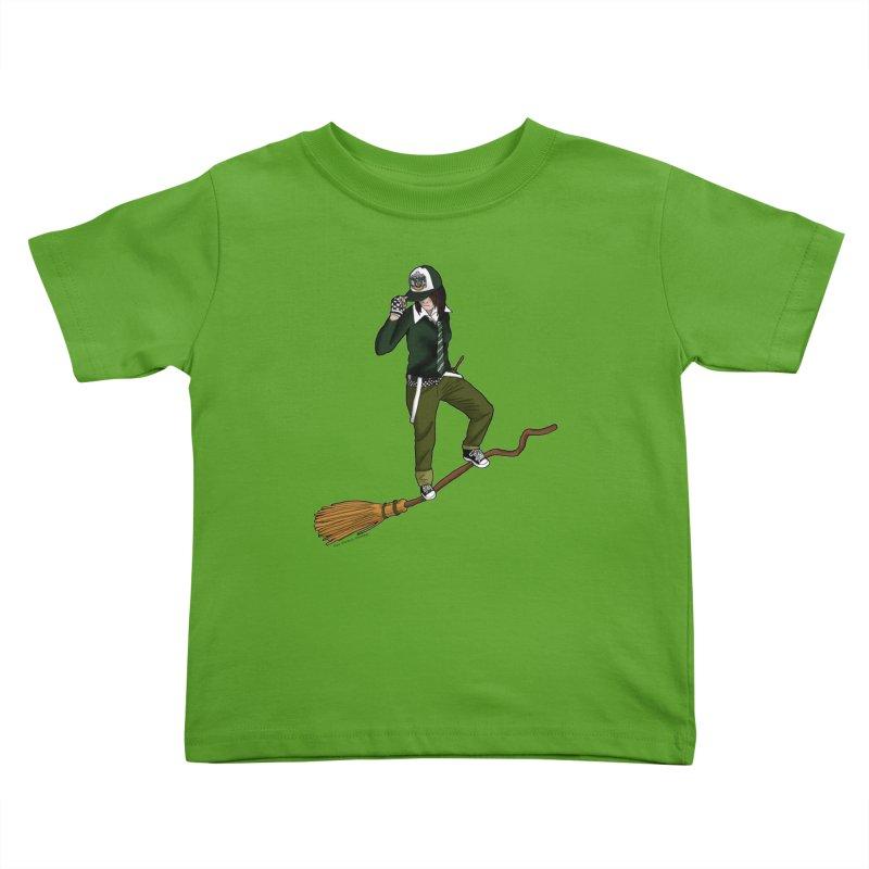 slitherin Kids Toddler T-Shirt by allandotson's Artist Shop