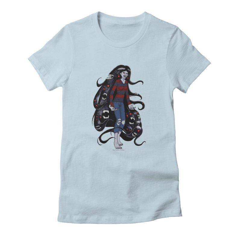 vampire queen Women's T-Shirt by allandotson's Artist Shop