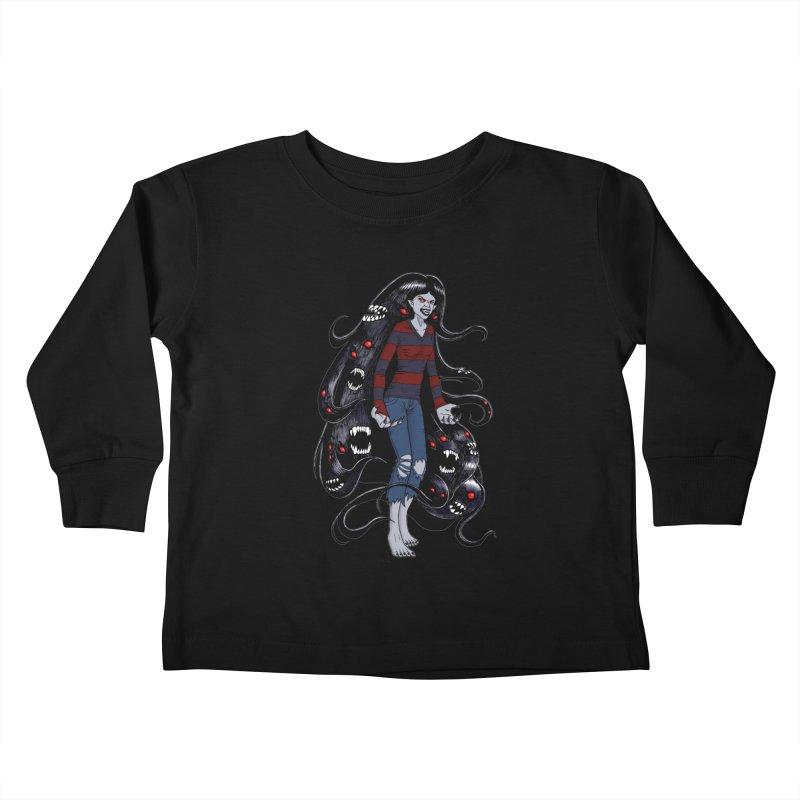 vampire queen Kids Toddler Longsleeve T-Shirt by allandotson's Artist Shop