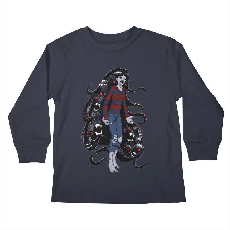 vampire queen Kids Longsleeve T-Shirt by allandotson's Artist Shop