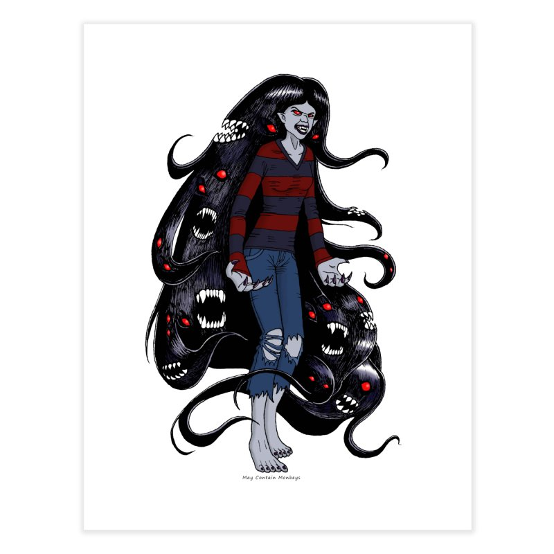 vampire queen Home Fine Art Print by allandotson's Artist Shop
