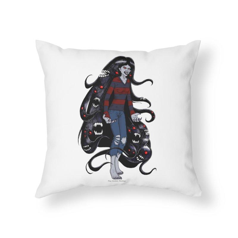 vampire queen Home Throw Pillow by allandotson's Artist Shop