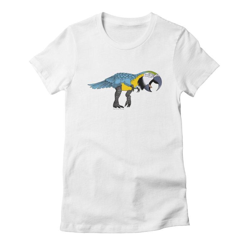 parrot Women's T-Shirt by allandotson's Artist Shop