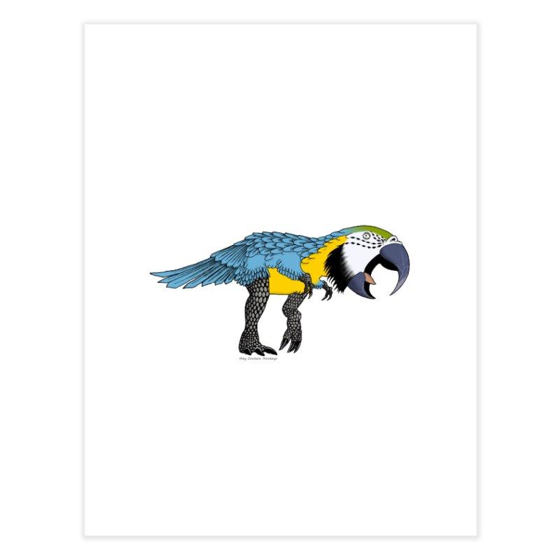 parrot Home Fine Art Print by allandotson's Artist Shop