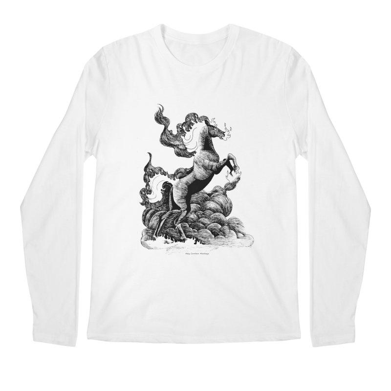 nightmare Men's Longsleeve T-Shirt by allandotson's Artist Shop
