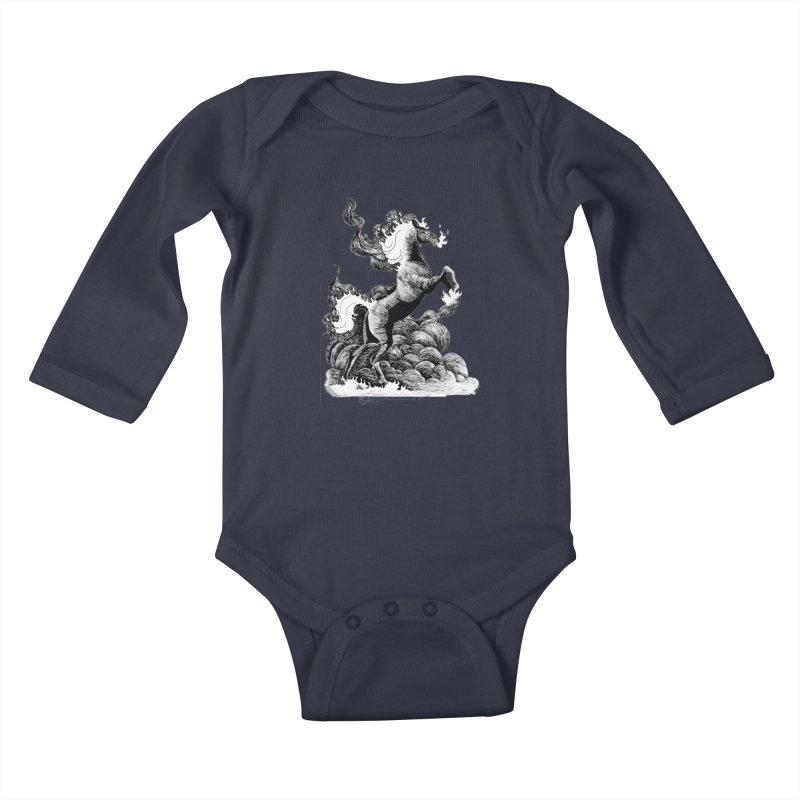 nightmare Kids Baby Longsleeve Bodysuit by allandotson's Artist Shop