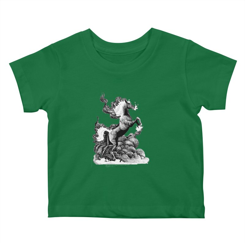 nightmare Kids Baby T-Shirt by allandotson's Artist Shop