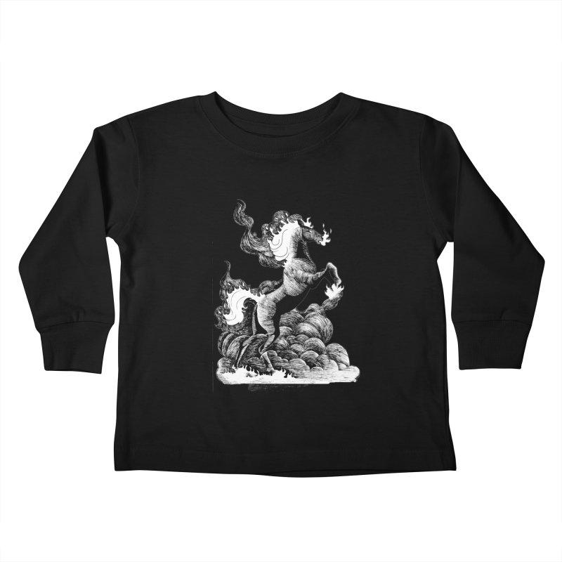 nightmare Kids Toddler Longsleeve T-Shirt by allandotson's Artist Shop