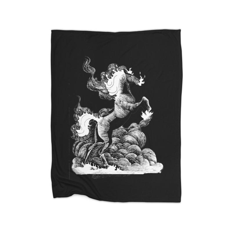 nightmare Home Blanket by allandotson's Artist Shop