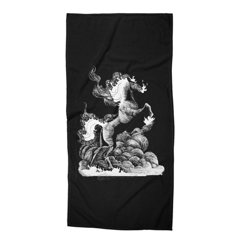 nightmare Accessories Beach Towel by allandotson's Artist Shop