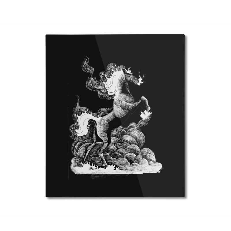 nightmare Home Mounted Aluminum Print by allandotson's Artist Shop