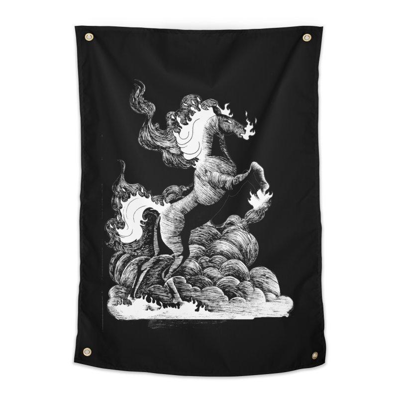 nightmare Home Tapestry by allandotson's Artist Shop