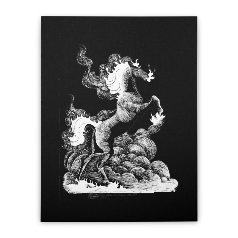 nightmare Home Stretched Canvas by allandotson's Artist Shop