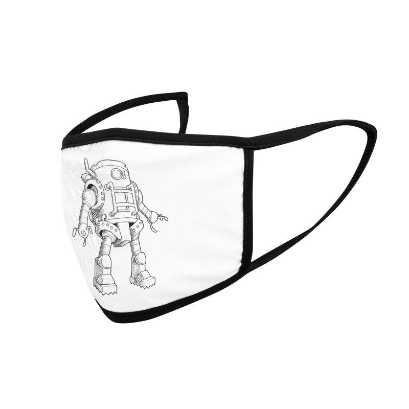 robot Accessories Face Mask by allandotson's Artist Shop