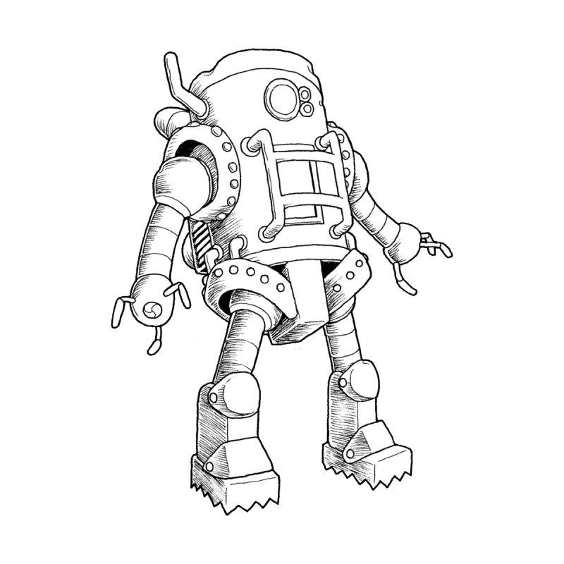 robot Home Duvet by allandotson's Artist Shop