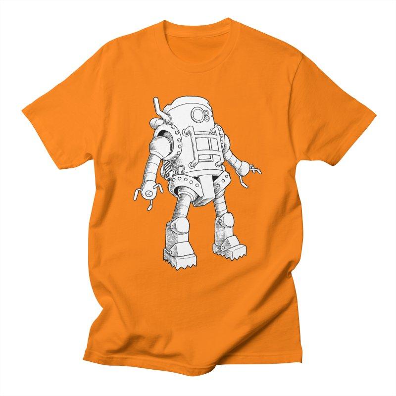 robot Men's T-Shirt by allandotson's Artist Shop