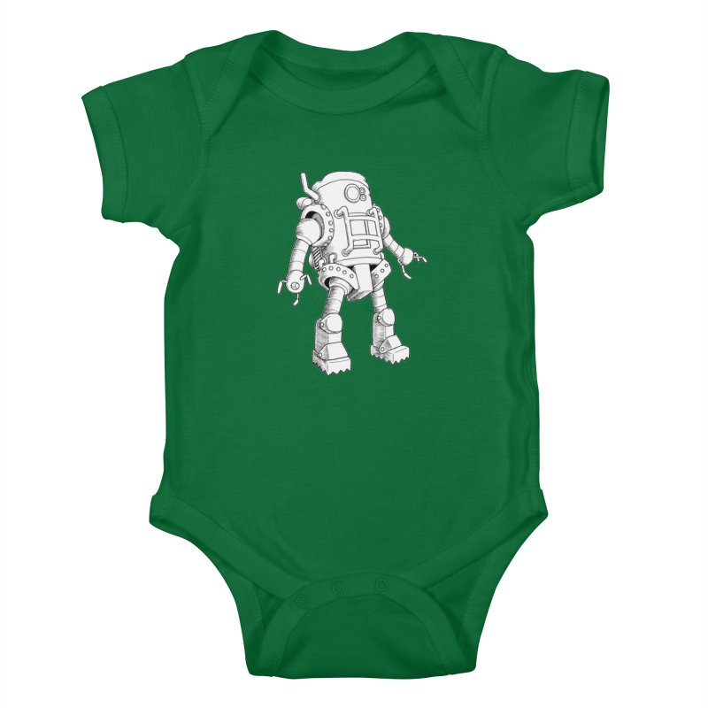 robot Kids Baby Bodysuit by allandotson's Artist Shop