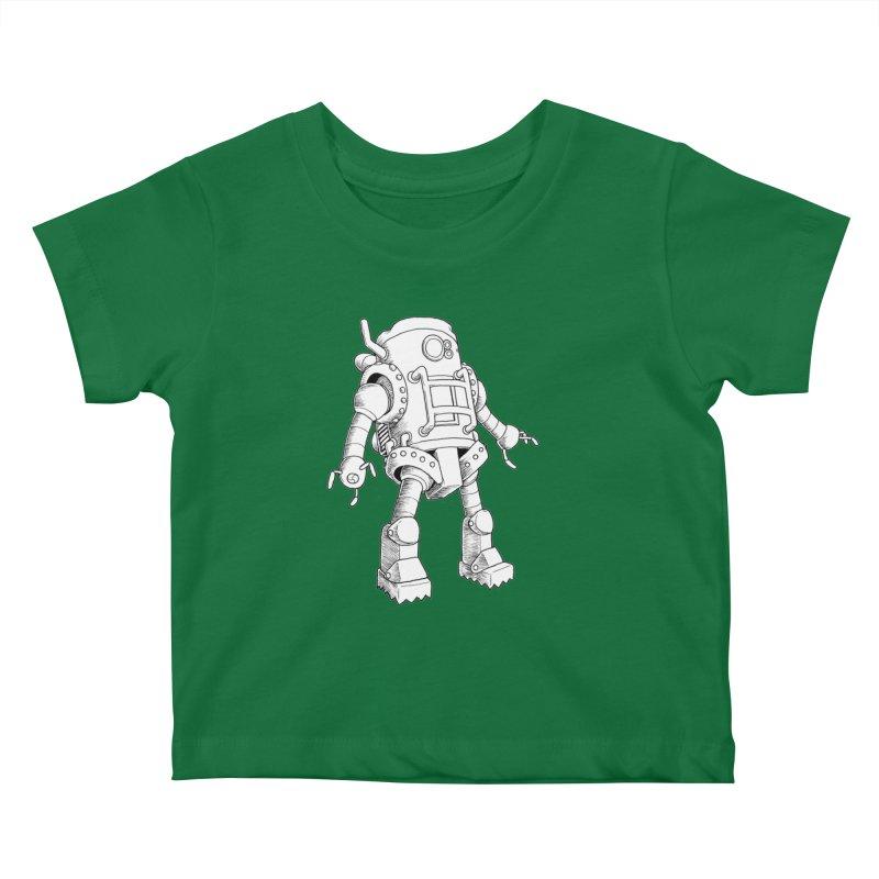 robot Kids Baby T-Shirt by allandotson's Artist Shop