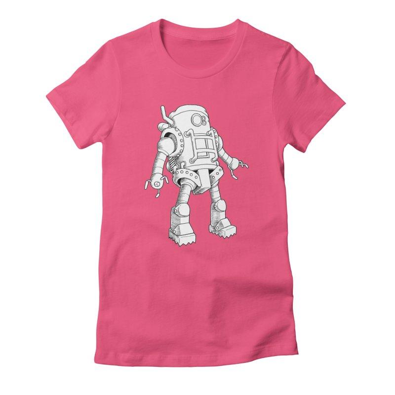 robot Women's T-Shirt by allandotson's Artist Shop