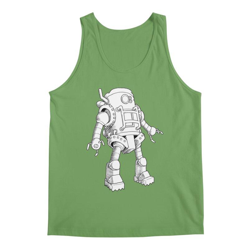 robot Men's Tank by allandotson's Artist Shop