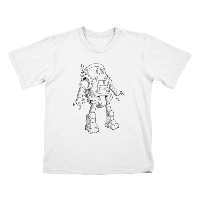 robot Kids T-Shirt by allandotson's Artist Shop