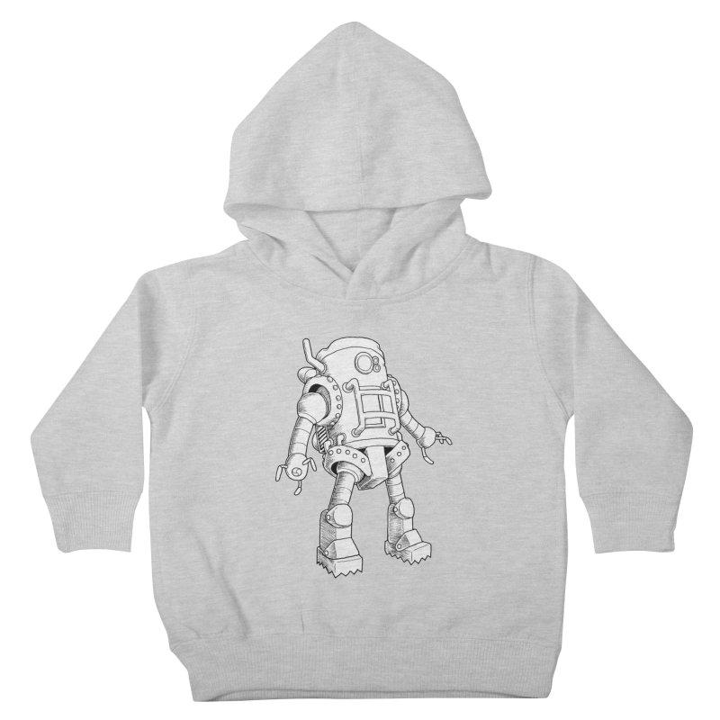 robot Kids Toddler Pullover Hoody by allandotson's Artist Shop