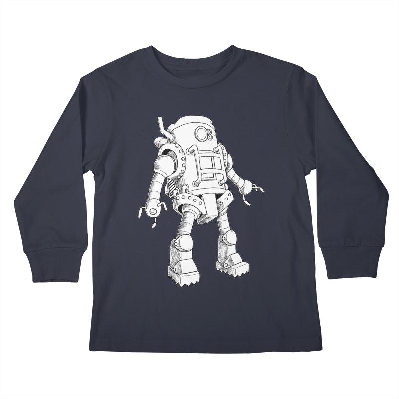 robot Kids Longsleeve T-Shirt by allandotson's Artist Shop