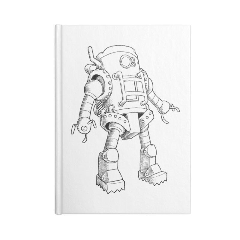 robot Accessories Notebook by allandotson's Artist Shop