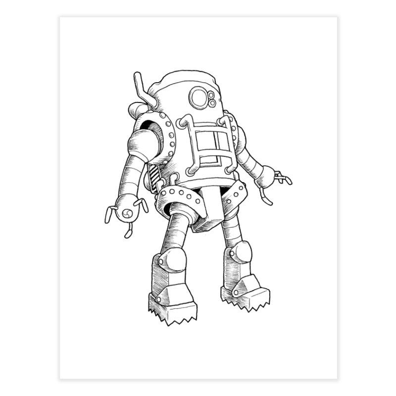 robot Home Fine Art Print by allandotson's Artist Shop