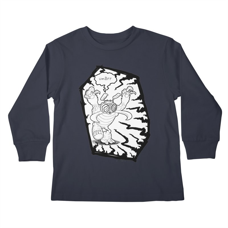 Gronk Kids Longsleeve T-Shirt by allandotson's Artist Shop