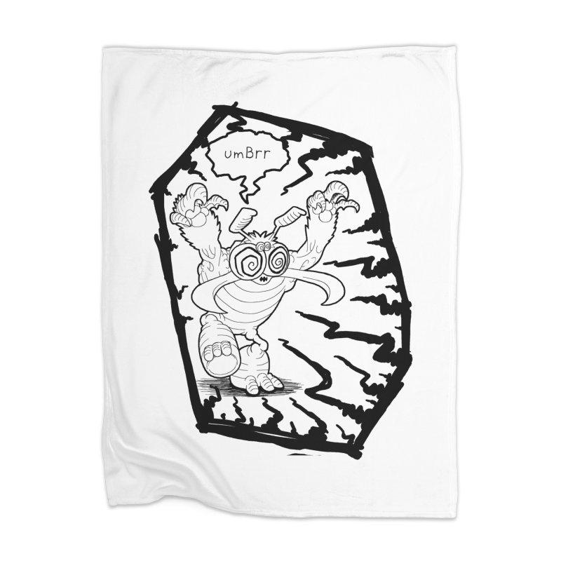 Gronk Home Blanket by allandotson's Artist Shop