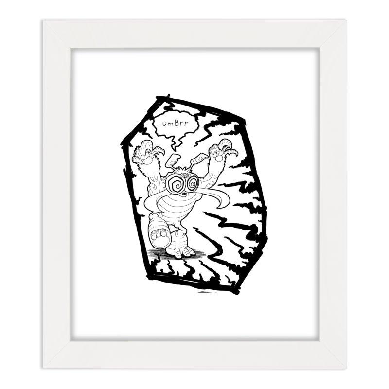 Gronk Home Framed Fine Art Print by allandotson's Artist Shop