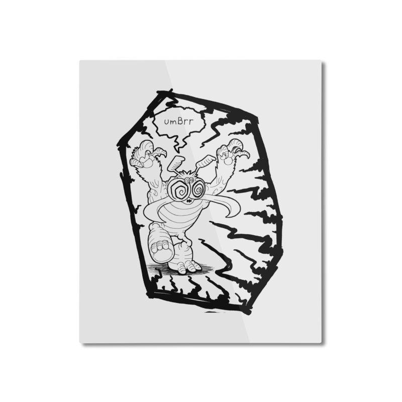 Gronk Home Mounted Aluminum Print by allandotson's Artist Shop