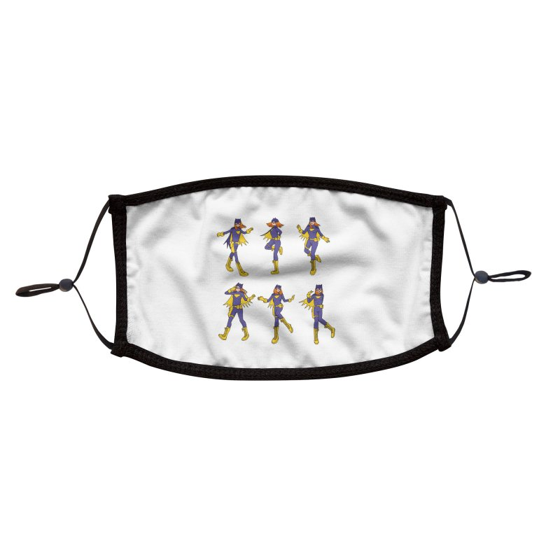 bat shuffle Accessories Face Mask by allandotson's Artist Shop