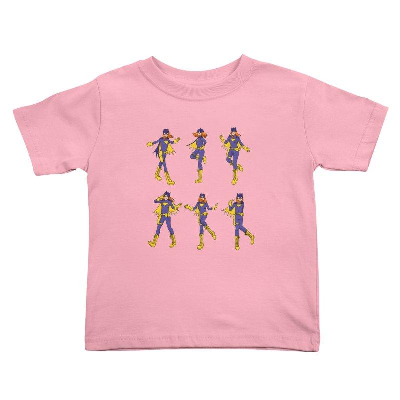 bat shuffle Kids Toddler T-Shirt by allandotson's Artist Shop