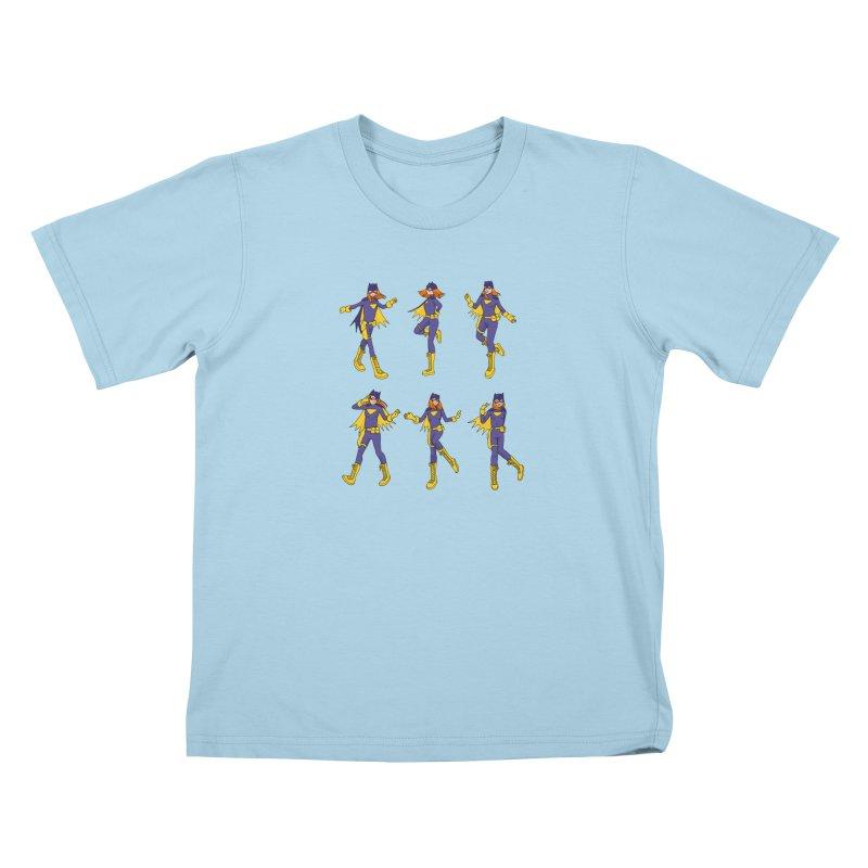 bat shuffle Kids T-Shirt by allandotson's Artist Shop