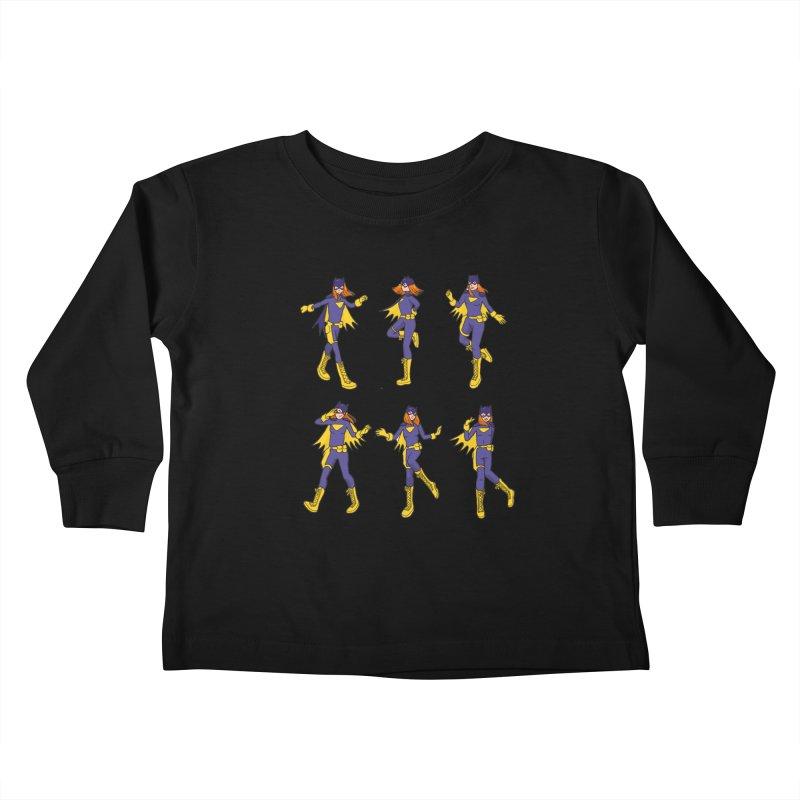 bat shuffle Kids Toddler Longsleeve T-Shirt by allandotson's Artist Shop