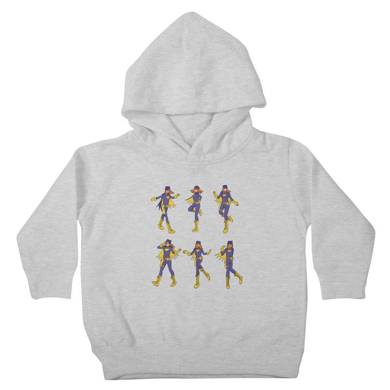 bat shuffle Kids Toddler Pullover Hoody by allandotson's Artist Shop