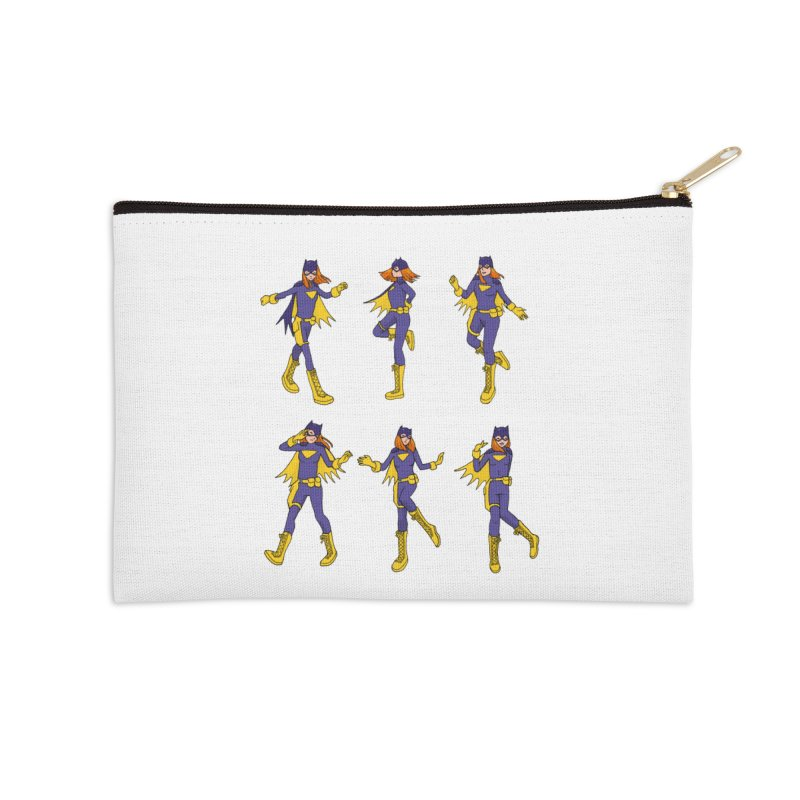 bat shuffle Accessories Zip Pouch by allandotson's Artist Shop