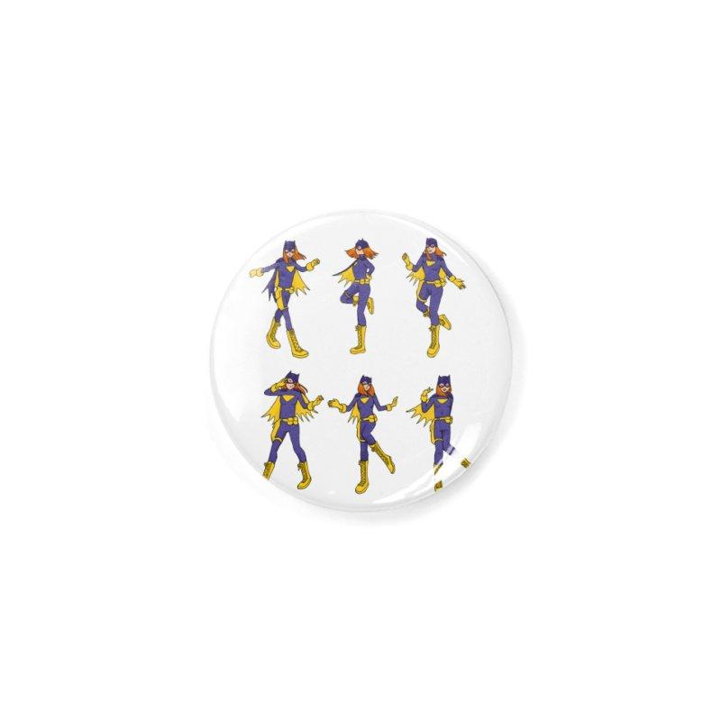 bat shuffle Accessories Button by allandotson's Artist Shop