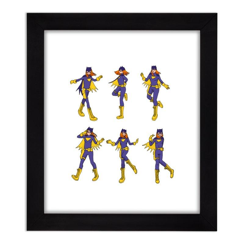 bat shuffle Home Framed Fine Art Print by allandotson's Artist Shop