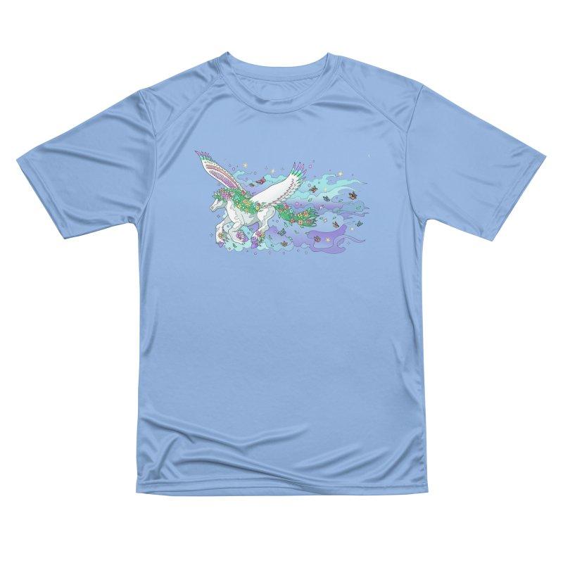 flower pony Women's T-Shirt by allandotson's Artist Shop