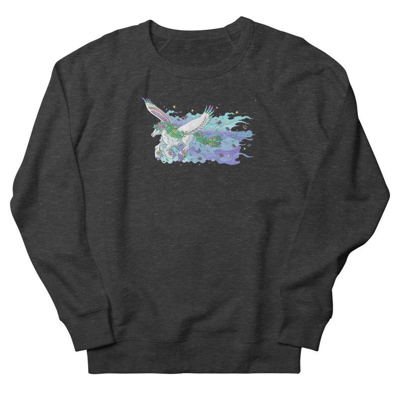 flower pony Women's Sweatshirt by allandotson's Artist Shop