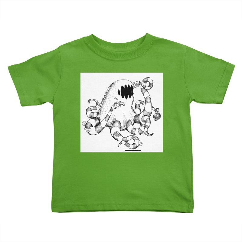 giant monster Kids Toddler T-Shirt by allandotson's Artist Shop