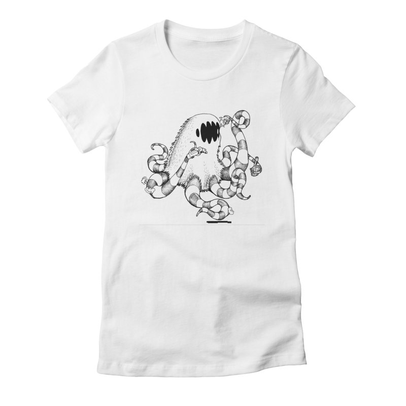 giant monster Women's T-Shirt by allandotson's Artist Shop