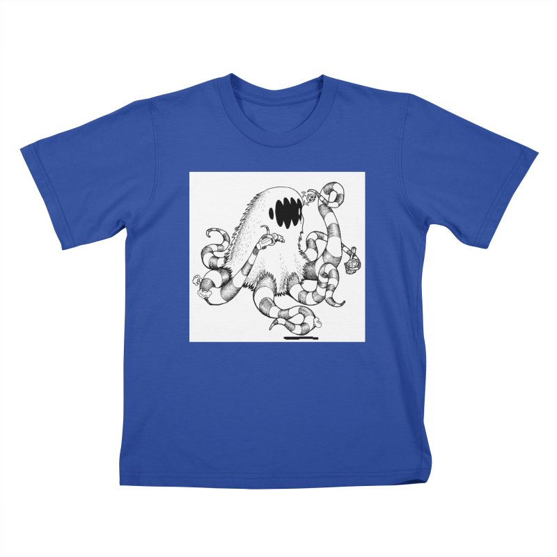 giant monster Kids T-Shirt by allandotson's Artist Shop