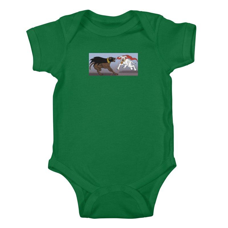KvA Kids Baby Bodysuit by allandotson's Artist Shop