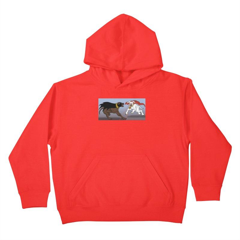 KvA Kids Pullover Hoody by allandotson's Artist Shop
